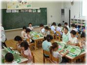 鍵盤ハーモニカ、日本太鼓の指導